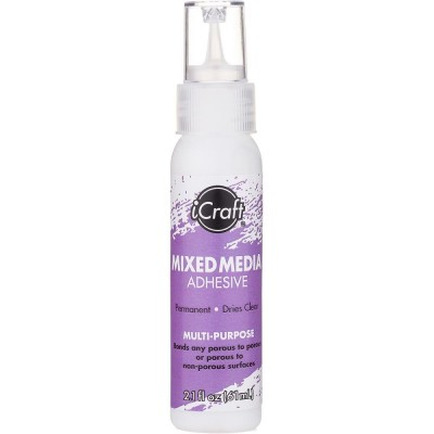 Icraft - Adhésif permanent «Mixed Media» 2oz