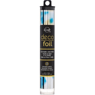 "Deco Foil «Transfer Sheets Lapis watercolour 6""X12""» 5/Pkg"
