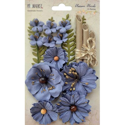 "49 & Market - Blossom Blends «Bluebell» 2.5"" 13/Pkg"