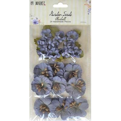 49 & Market - BGarden Seeds «Bluebell» paquet de 29 fleurs