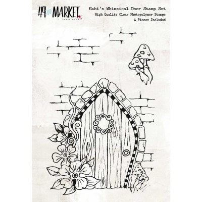 49&Market - Gabi's «Whimsical Door» 4 pcs