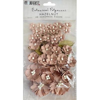 49 & Market - Collection «Botanical Potpourri» couleur «Hazelnut» 49 pcs