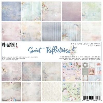 49& Market - bloc de papier collection «Sweet Reflection» 6 X 6""