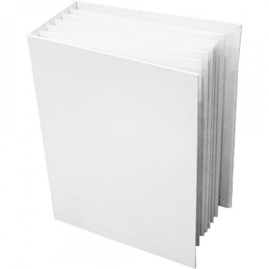 """49th Market - Album  «Foundations Album» 6"""" x 8"""" Blanc"""