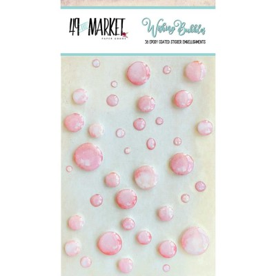49 & Market - Embellissement Epoxy «Taffy» 38 / paquet