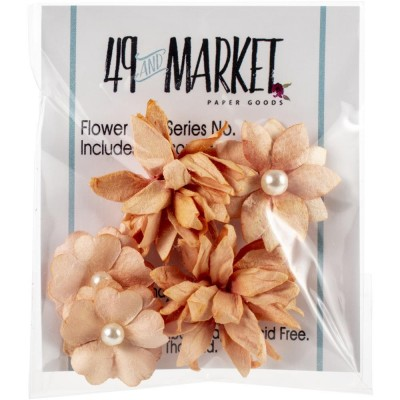49 & Market - Collection «Flower mini » couleur «Ginger»
