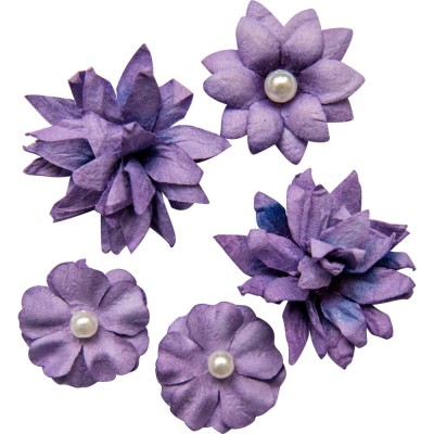 49 & Market - Collection «Flower mini » couleur «Violet»