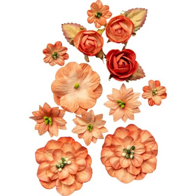 49 & Market - Collection «Country Blooms» couleur «Tangerine»