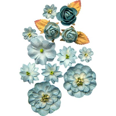 49 & Market - Collection «Country Blooms» couleur «Sky»