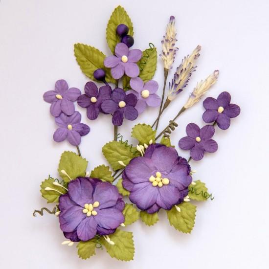 49 & Market - Collection «Wildflower » couleur «Violet»