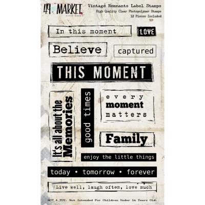 49&Market - Estampes «Vintage Remnants» ensemble de 12 pièces