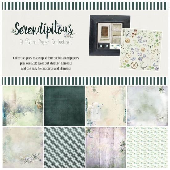 """49& Market  - bloc de papier collection «Serendipitous» 12 X 12"""""""