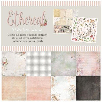 49& Market  - bloc de papier collection «Ethereal» 12 X 12""