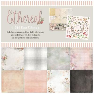 """DIS. 49& Market  - bloc de papier collection «Ethereal» 12 X 12"""""""