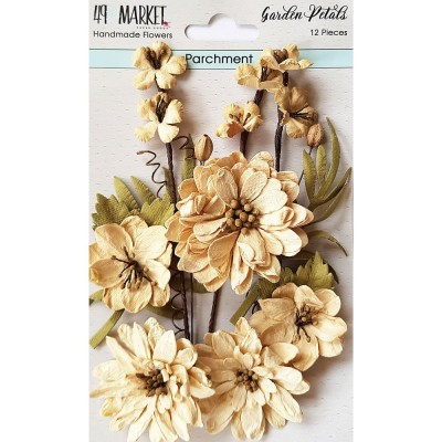 49 & Market - Collection «Garden Petals» couleur «Parchment »