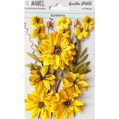 49 & Market - Collection «Garden Petals» couleur «Sunshine»