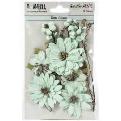 49 & Market - Collection «Garden Petals» couleur «Sea Glass»
