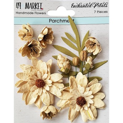 49 & Market - Collection «Enchanted Petals» couleur «Parchment»