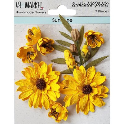 49 & Market - Collection «Enchanted Petals» couleur «Sunshine»