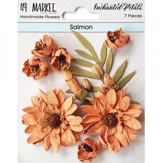 49 & Market - Collection «Enchanted Petals» couleur «Salmon»