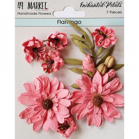 49 & Market - Collection «Enchanted Petals» couleur «Flamingo»