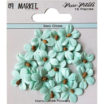 49 & Market - Collection «Pixie Petals »couleur «Sea Glass»