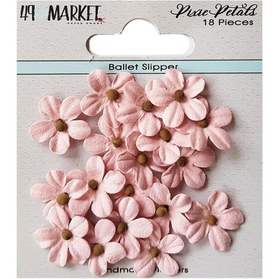 49 & Market - Collection «Pixie Petals »couleur «Ballet Slipper»