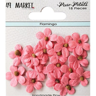 49 & Market - Collection «Pixie Petals »couleur «Flamingo»
