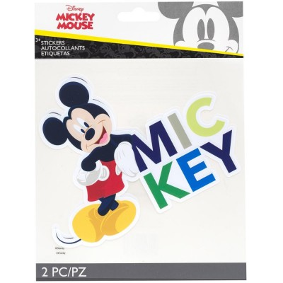 EK Success - Autocollants«Mickey Mouse» 2 pièces