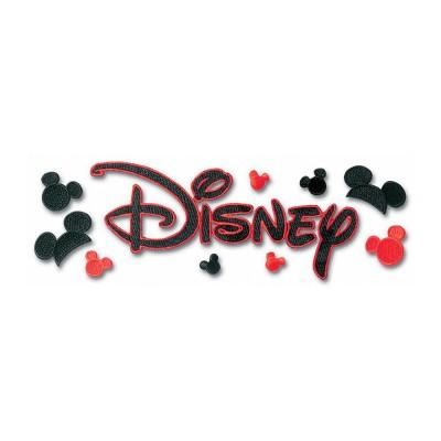 EK Success - Autocollant en tissus «Disney» 10 pièces