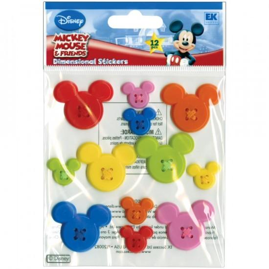 EK Success - Embellissement «Mickey Icon» 12 pièces