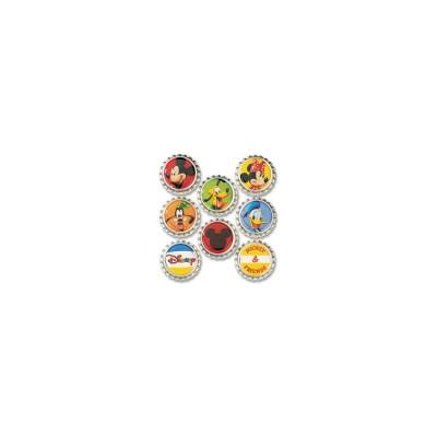 EK Success - Bouchon de bouteilles Disney «Mickey» 8 pièces