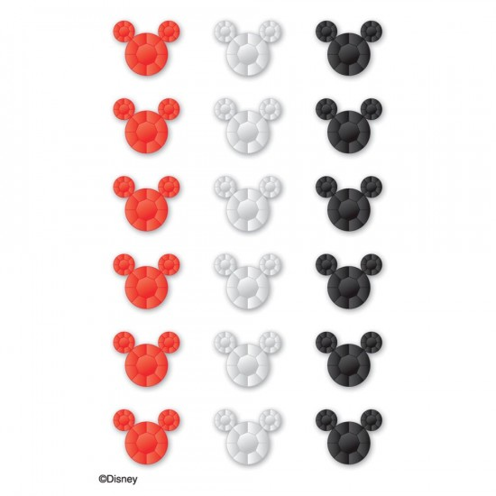 EK Success - Autocollant «Mickey Heads» 18 pièces