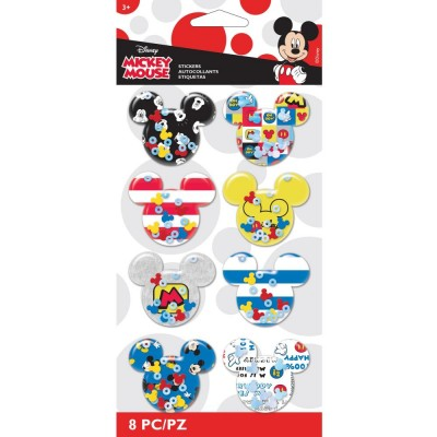 EK Success - Autocollants«Mickey Ears» 8 pièces