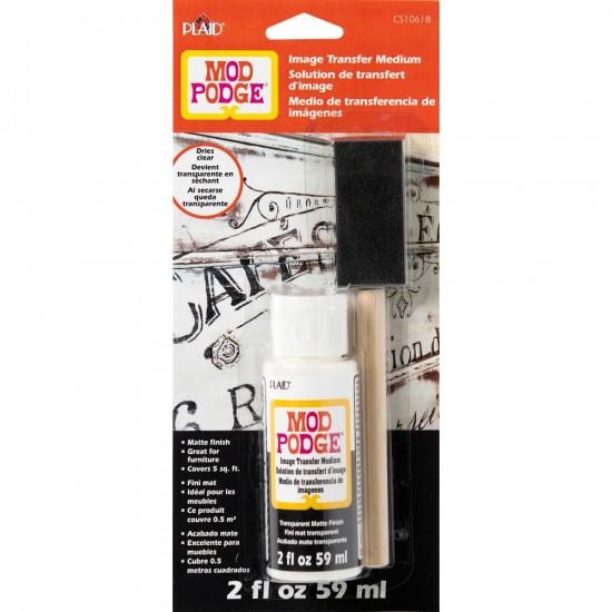 LIQUIDATION-Mod Podge - Ensemble solution 2oz + brosse  (Le prix ci-dessous est déjà réduit de 50%)