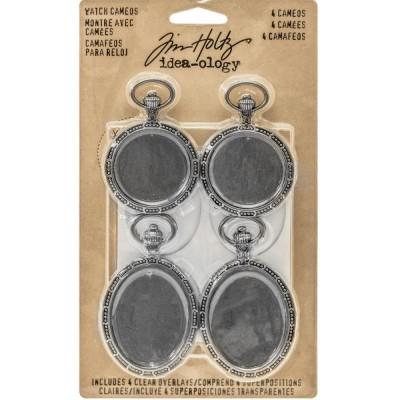 Tim Holtz - Idea-Ology Montre de poche paquet de 4