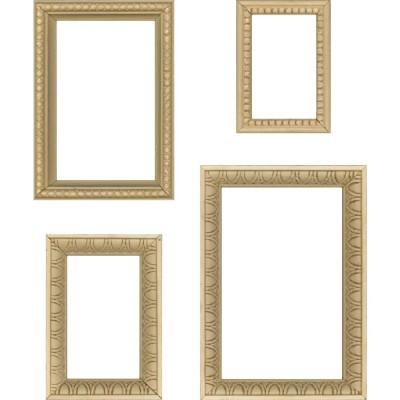 Tim Holtz - «Idea-Ology Wooden Vignette Frames» 4 pcs