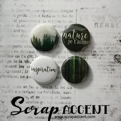 Scrap Accent - Badges modèle «Kit moodboard avril 2019»