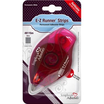 E-Z Runner distributeur rechargeable de ruban adhésif réutilisable 15m