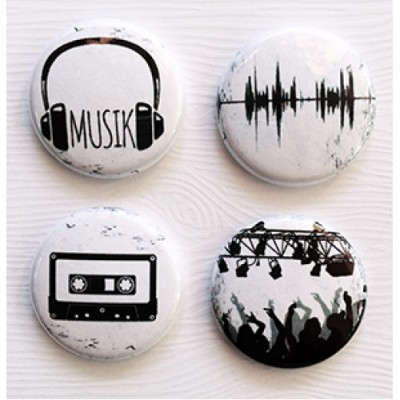 Lime Citron - badge 128 «Musik»
