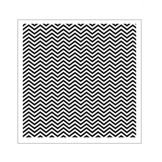 13Arts - Stencil Chevron Tiny