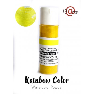 13 Arts - Rainbow Color Jaune citron