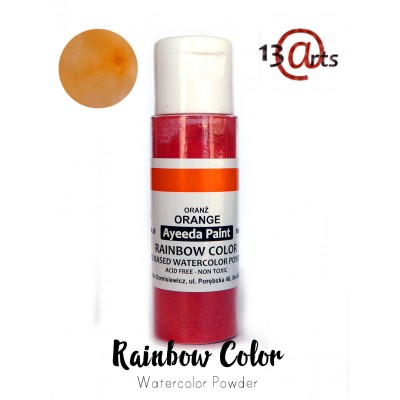 13 Arts - Rainbow Color Orange