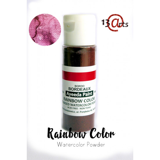 13 Arts - Rainbow Color Bordeaux