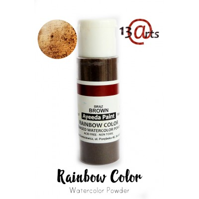 13 Arts - Rainbow Color Brown