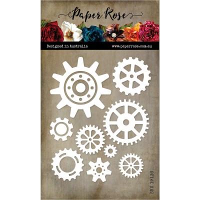 Paper Roses - Dies «Cogs »