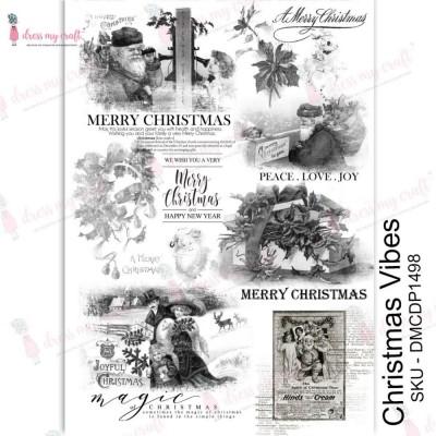 Dress my Craft - Transfer Me «Christmas Vibes»