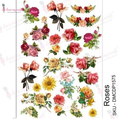 Dress my Craft - Transfer Me «Roses»