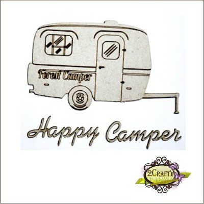 2 Crafty - Happy Camper Set