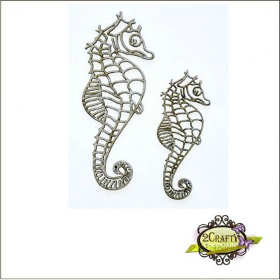 2 Crafty - Intricate Seahorses